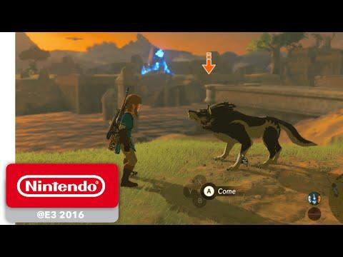 The Legend of Zelda: Breath of the Wild - Wolf Link amiibo Trailer - Nintendo E3 2016