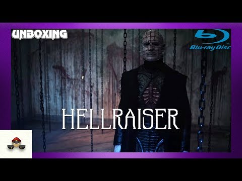 Hellraiser Judgment Blu Ray Unboxing