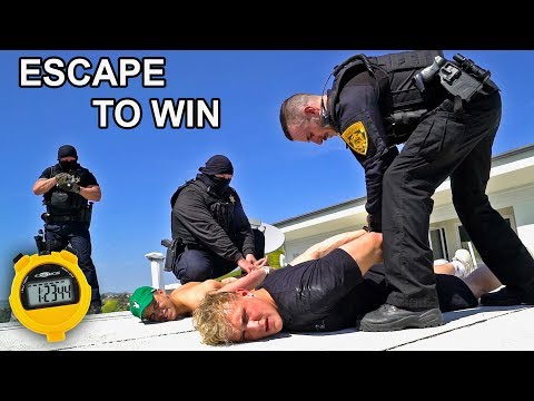 LAST ONE TO GET ARRESTED WINS $25,000!! (GAME)