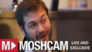Kasabian's Tom Meighan talks Glasto, Leicester flags, and Sergio love | Moshcam Interview