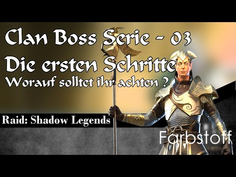 Raid: Shadow Legends - Clan Boss im Detail - Folge 03 - Early Game Tipps