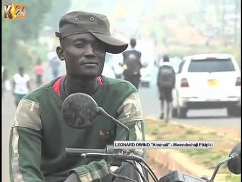 Kufa Kupona : Mbembwe za mwendeshaji bodaboda Kisumu