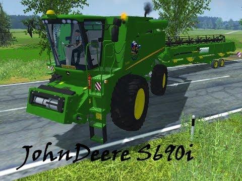 Farming Simulator 2013- John Deere S690i By NSMT