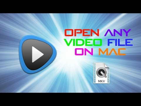 HOW TO OPEN ANY VIDEO FILE ON MAC FOR FREE! (INCLUDING .AVI AND .MKV!) UPDATED! (видео)