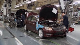 Mercedes-Benz Factory in China