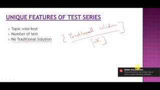 We are happy to announce that we are launching test series for bank exams with very unique features like1) Topic wise test2) Number of test3) No Traditional Solution4) 99% solution without any formula5) Complete Solution of Quantitative Aptitude and Reasoning in the form of video for every mock test6) Current affairs test every week7) Support for solving any query within 24 hrs8) Complete analysis of Performance