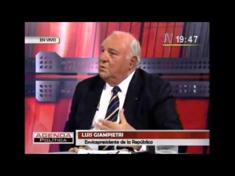 Luis Giampetri: Compras Militares en las FFAA del Perú