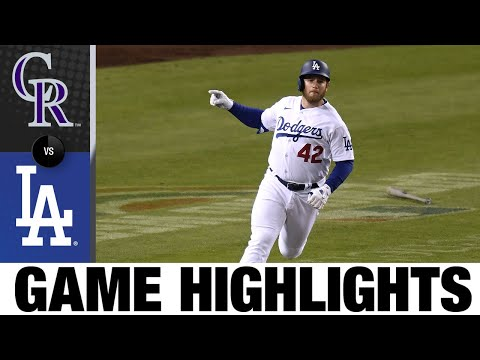 Rockies vs. Dodgers Game Highlights (4/15/21)   MLB Highlights