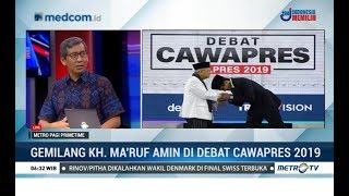 Video Hasil Gemilang KH Ma'ruf Amin di Debat Cawapres 2019 MP3, 3GP, MP4, WEBM, AVI, FLV Maret 2019