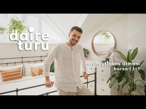 Daire Turu: Ersin'in Bursa'daki 1+1 Çatı Katı