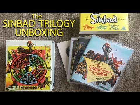 Limited Edition Sinbad Trilogy Blu-ray Unboxing