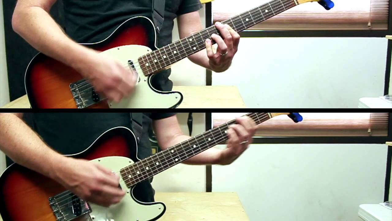 Alive (Hillsong Y&F) –  Tutorial 1 or 2 Electric Guitars