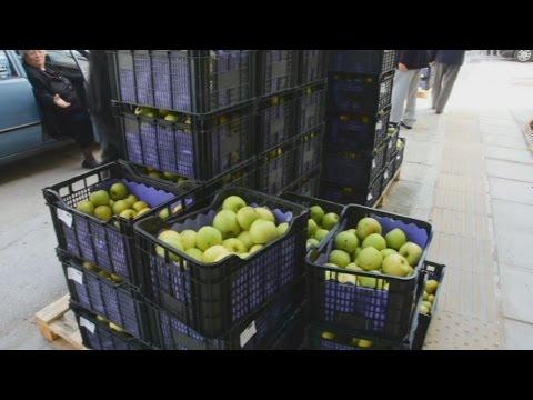 Διανομή μήλων από τον Δήμο Ναυπλιέων