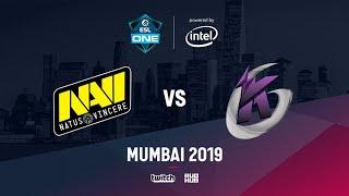 Na`Vi vs Keen Gaming, ESL One Mumbai 2019, bo3, game 2 [Godhunt & Lost]