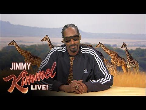 Snoop Dogg en journaliste animalier (video)