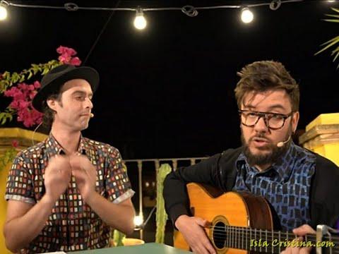 """Actuación del dúo de Isla Cristina Antílopez, en el programa """"La 1 de TVE"""