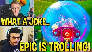 Streamers in *DISBELIEF* How EASY Competitive Fortnite IS NOW! *BALLER OP* - Fortnite Moments