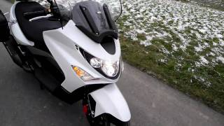 9. Kymco Xciting 500 i R ABS   Großroller   Maxiscooter