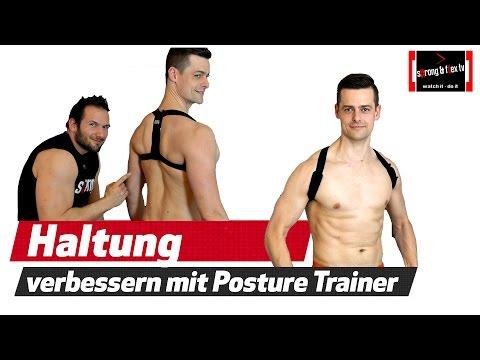 Blackroll Posture - Rundrücken loswerden - Körperhaltung verbessern