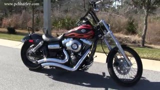 3. VANCE AND HINES 2013 Harley Davidson FXDWG Dyna Wide Glide