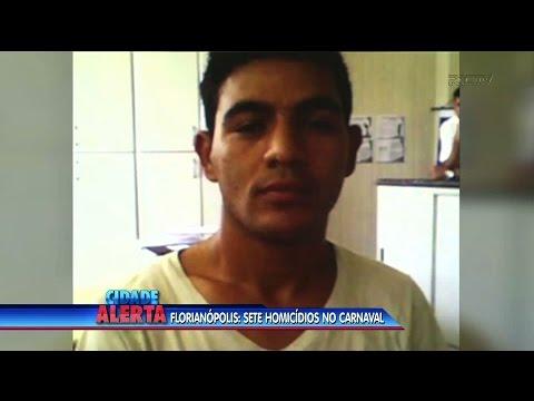 Sete homicídios são registrados durante o Carnaval, em Florianópolis
