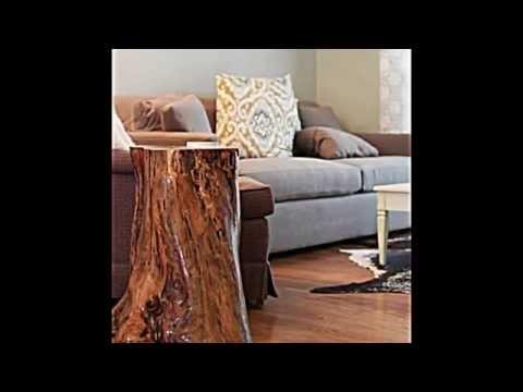 So individuell wie ein baum genau so sind m bel und deko for Baumstamm deko wohnung