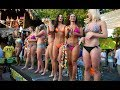 Bikini Contest 2014 at Gilligan's Island Bar Siesta Key Sarasota