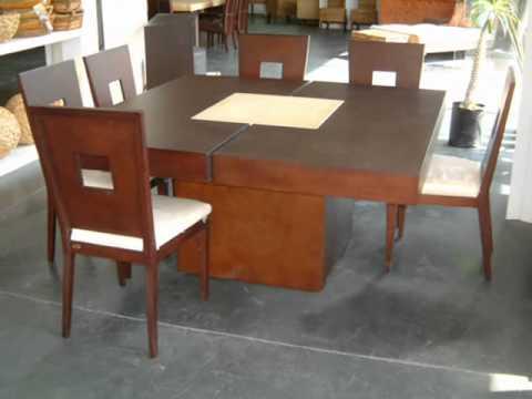 Muebles minimal concept comedores 2da parte for Comedores coppel