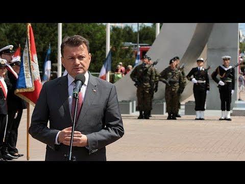 Dowództwo MW wróci do Gdyni - wystąpienie ministra M. Błaszczaka