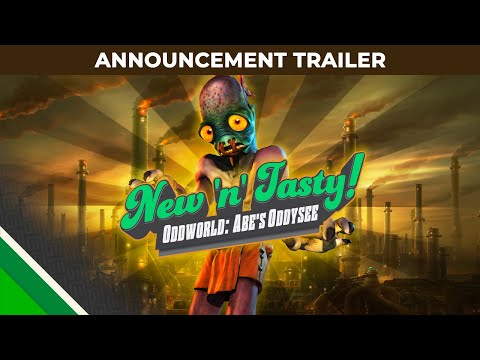 Oddworld: New 'n' Tasty, s'annonce pour octobre sur Switch de Oddworld: New and Tasty