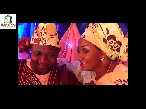 IGBEYAWO SANYERI SAOTI AREWA ENTERTAIN THE COUPLE AND WAS GLAMOROUS