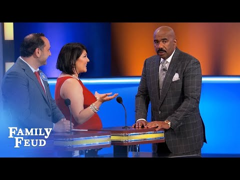 Steve Harvey... BELLY DANCING! | Family Feud