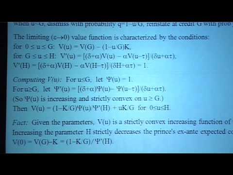 EWR-ESEM09: Roger Myerson, Econometrics Society Presidential Address (Teil 4)