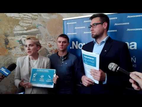 Toruń. Konferencja Nowoczesnej ws. programu Toruńskiego in vitro