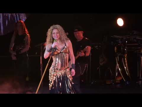 SHAKIRA - Whenever, Wherever @ AccorHotels Arena, Paris - 2018-06-13