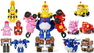 Video Larva Rangers Red Yellow Pink BlackBlue Brown Transformers Combiner Robot Toys MP3, 3GP, MP4, WEBM, AVI, FLV Desember 2018