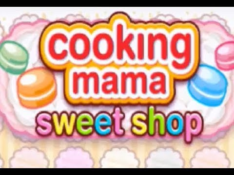 Cooking Mama: Sweet Shop (3DS) Part 1: Make Sweets - Bûche De Noël & Crepe, Shopping