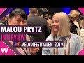 "Malou Prytz ""I Do Me"" Interview @ Melodifestivalen 2019 | wiwibloggs"