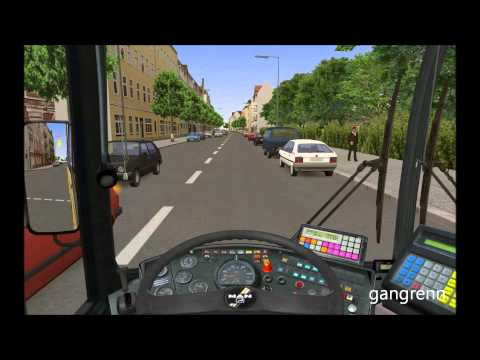 OMSI: Bus simulator gameplay