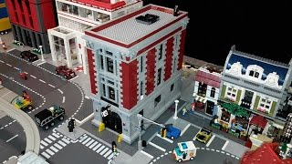 Building & Placing Ghostbusters Firehouse HQ