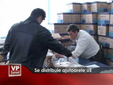 Se distribuie ajutoarele UE