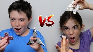 Video FIDGET SPINNER vs FIDGET SPINNER!! MP3, 3GP, MP4, WEBM, AVI, FLV Juli 2017