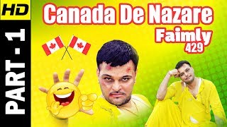 Video Family 429 - Canada De Nazare  | Part 1 |  Gurchet Chitarkar | New Punjabi Comedy Movie MP3, 3GP, MP4, WEBM, AVI, FLV Oktober 2018