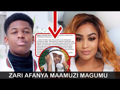 Tazama uamuzi aliochukua ZARI kuhusiana na mwanae kutangaza kua ni shoga