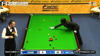 Snooker German Masters 2013 Q - Judd Trump Vs James Wattana 5 - 9