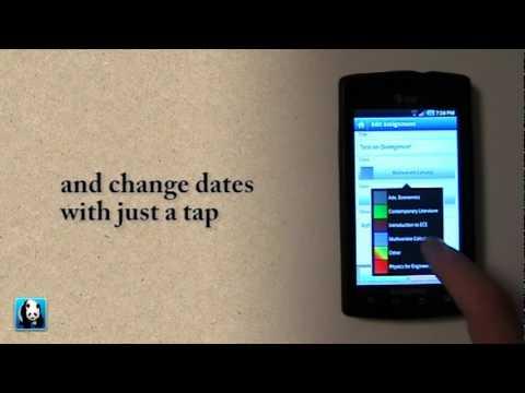 Video of Everstudent Student Planner