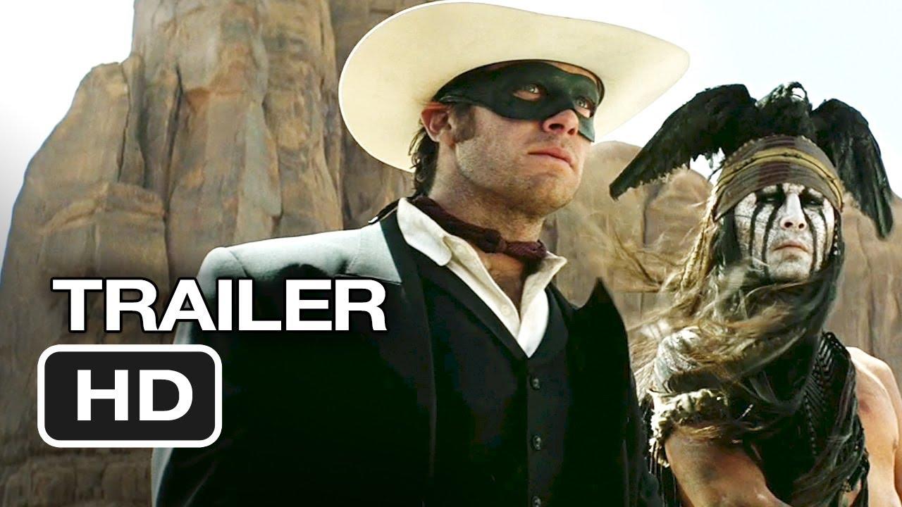 Movie Trailer:  The Lone Ranger (2013)