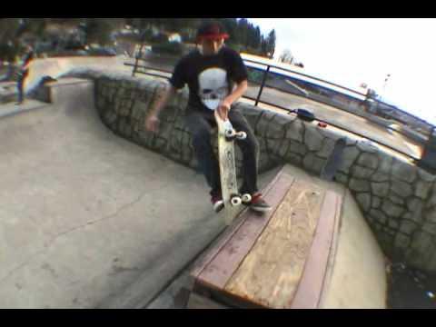 Geo Teodoro, Pat Bordwell, & Kevin Kowalski skating funbox @ Toledo Skatepark