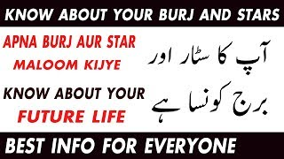 apka burj aur star konsa ha  apne burj aur sitaray maloom karen   What is your star sign