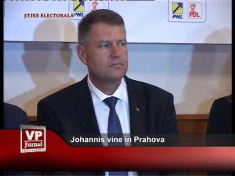 Johannis vine în Prahova